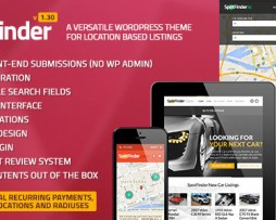SpotFinder - Versatile Directory & Listings Theme http://Glukom.com