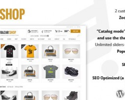 Bazar Shop - Multi-Purpose e-Commerce Theme 1.9.0 http://Glukom.com