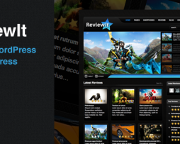 ReviewIt: Review WordPress & BuddyPress Theme http://Glukom.com