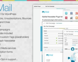 MyMail - Email Newsletter Plugin for WordPress http://Glukom.com