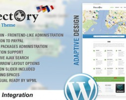 Directory Portal WordPress Theme http://Glukom.com
