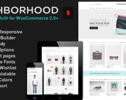 Neighborhood - Responsive Multi-Purpose Shop Theme http;//www.Bizzkom.com