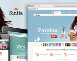 Sintia Responsive for Business Portfolio http://Glukom.com
