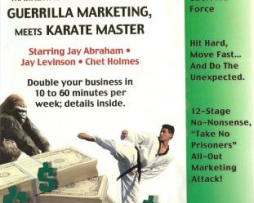 Jay Conrad Levinson and Chet Holmes – Guerrilla Marketing Meets Karate Master 22 CDs http://Glukom.com
