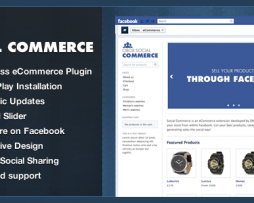 Social Commerce WordPress Plugin http://Glukom.com