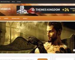 ThemesKingdom Informer Wordpress Theme http://Glukom.com