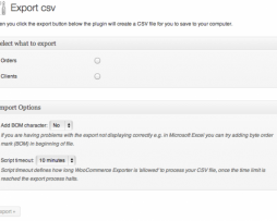 Woocommerce Order/Customer CSV Export http://Glukom.com