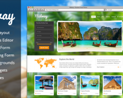 Midway - Responsive Travel WP Theme http://Glukom.com