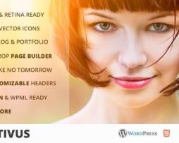 Positivus - Multipurpose AJAX Blog/Portfolio Theme http://Glukom.com