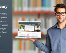 Academy - Learning Management Theme http://Glukom.com