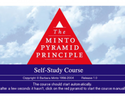 Barbara Minto - The Minto Pyramid Principle http://Glukom.com