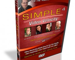 Simple4 Video Velocity Workshop http://Glukom.com