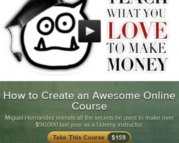 Miguel Hernandez – How to Create an Awesome Online Course http://Glukom.com