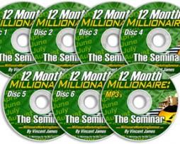 Vincent James – 12 Month Millionaire: The Seminar