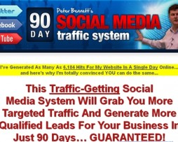 Pete Bennett – 90 Days Social Media Traffic System + Bonuses