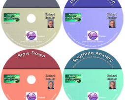 The New Richard Bandler 5 CDs – DeeperState , Determined Resolved ,Slow Down ,Sooting Anxiety & Getting Smarter Series