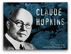 Claude Hopkins – Ads Collection Swipe Files