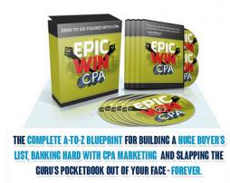Travis Morgan – Epic Win CPA + OTO 1 & 2