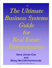 Vena Jones & Cox Missy McCall - Real Estate MBA : Ultimate Business System