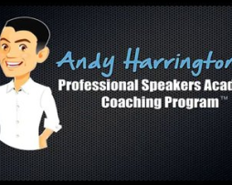 Andy Harrington – Professional Speakers Academy