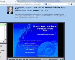 Elliot Wave - How To Select and Trade Individual Stocks 2012