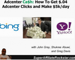 Adcenter Cash System – How to Make $5kday on Adcenter