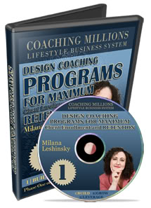 Milana Leshinsky - Creating A Best Selling Coaching Program