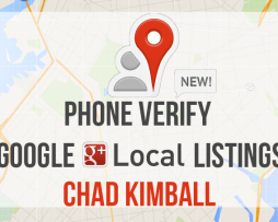 Chad Kimball – Phone Verify Google Local Listings
