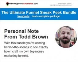 Todd Brown – Ultimate Funnel Sneak Peek Package