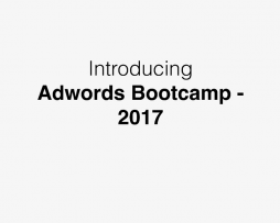 Eric Chen‎ – The Adwords Bootcamp 2017
