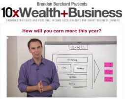 Brendon Burchard - 10x Wealth and Business New