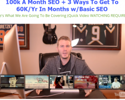 Alex Becker - 100k A Month SEO + 3 Ways To Get To 60K