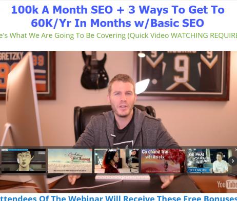 Alex Becker - 100k A Month SEO + 3 Ways To Get To 60K