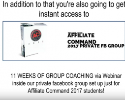 Affiliate Command 2017 – Kam Jennings