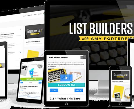 Amy Porterfield – List Builders Lab 2.0