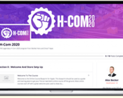 Alex Becker – H-Com 2020: $4735 Daily With Shopify