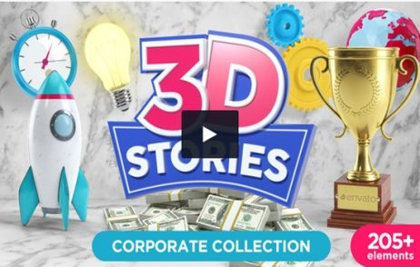 3D STORIES – Icons Explainer Toolkit