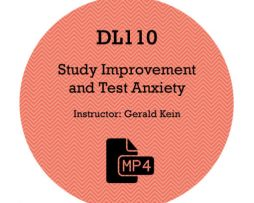 Gerald Kein - Study Improvement And Test Anxiety