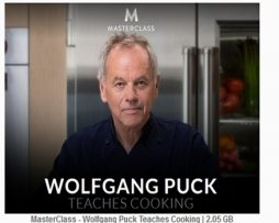MasterClass – Wolfgang Puck Teaches Cooking