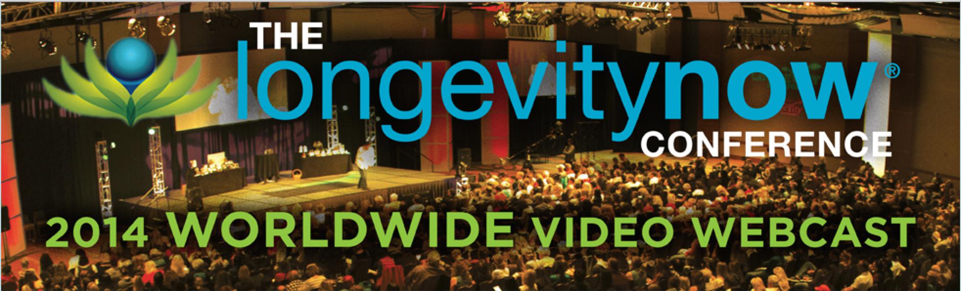 Longevity Now Conference 2014