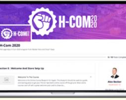 Alex Becker – H-Com 2020: $4735 Daily With Shopify