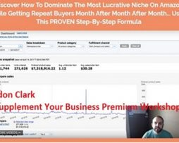 Brandon Clark – Supplement Your Business Premium Workshop