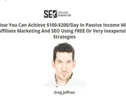 Greg Jeffries – SEO Affiliate Domination
