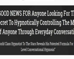 Advanced Ultimate Conversational Hypnosis by Dr. Steve G. Jones