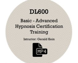 Gerald Kein - Hypnotism Certification Training Course - Basic To Advanced