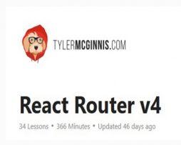 React Router v4